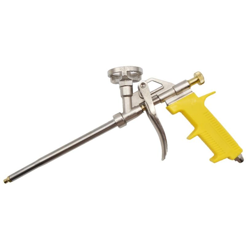 Heavy Duty PU Foam Gun Manual Expanding Spray airbrush DIY dispenser Insulating Applicator Bubble Glue Gun Caulking repair Tool