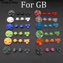 Tingdong substituição botões para gameboy clássico gb teclados para gb dmg diy para gameboy a b botões d-pad