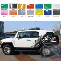 Fit For Toyota FJ CRUISER Car Decals Rear Trunk Tire Styling Quarter Panel Graphic Vinyl Fashion Decoration Car Stickers Custom