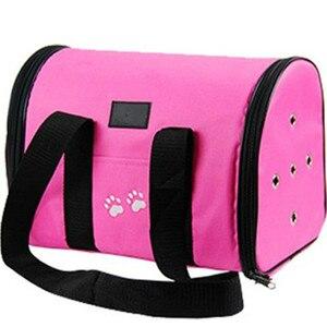 Большая Складная Водонепроницаемая однотонная сумка из ткани Оксфорд для домашних животных, дышащая Двусторонняя универсальная сумка на все четыре сезона