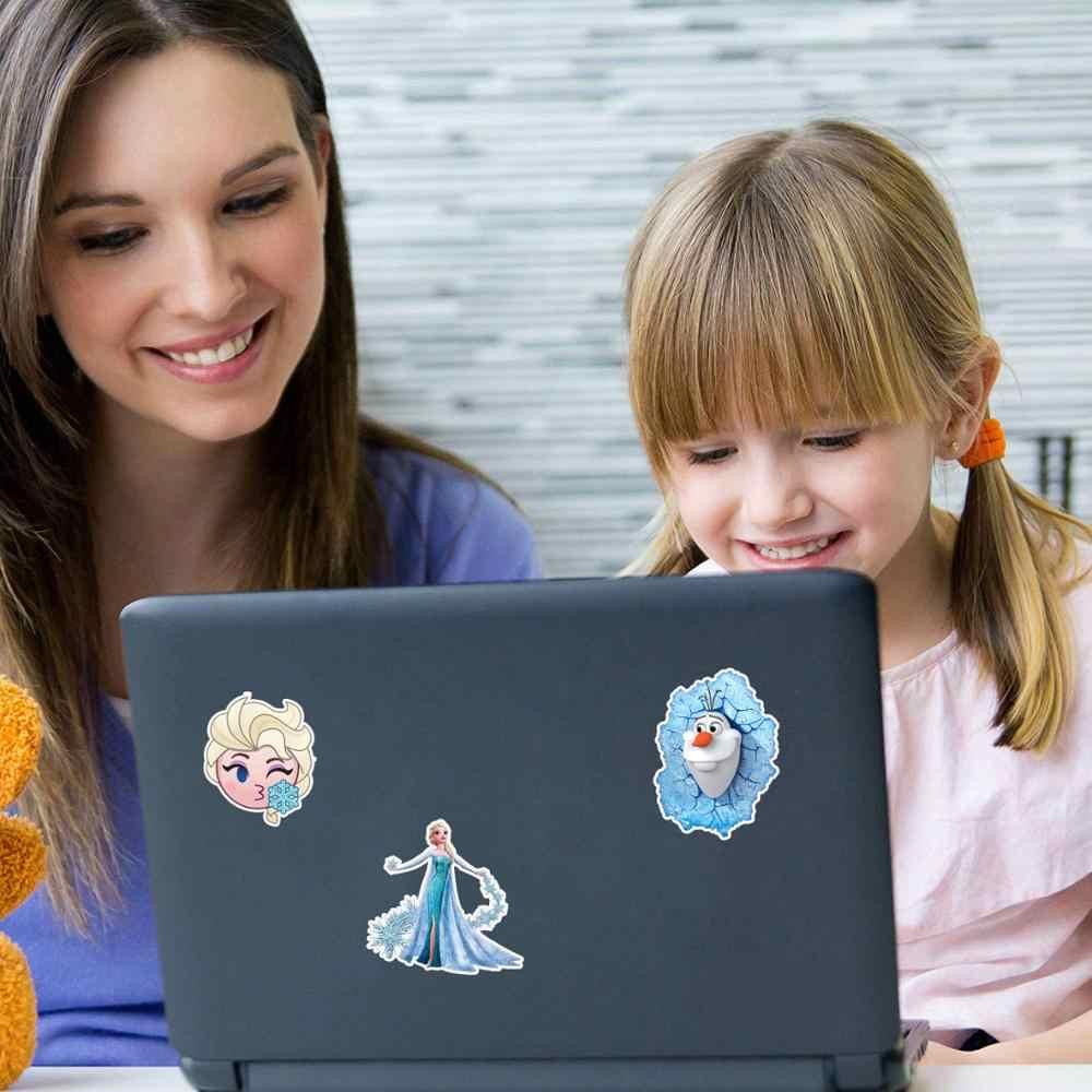 50 adet dondurulmuş 2 çıkartmaları prenses Elsa Graffiti dondurulmuş etiket çocuklar için dizüstü bilgisayar kaykay bavul bisiklet