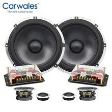 3 полосная Автомобильная звуковая система 6,5 дюйма, Высокочастотный динамик, средний бас, полночастотный компонент, автомобильные динамики, аудиокомплект, сабвуфер для автомобиля