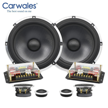 6.5 Inch 3 way Car Sound System Tweeter Midrange Bass Full Frequency Component Car Speakers Audio Set Subwoofer for Car Auto