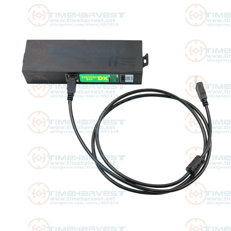 Pandora Box DX 3P 4P Converter USB Interface Control 3P 4P Controller For 3 Player 4 Player Joystick Connect 3P 4P Game Console