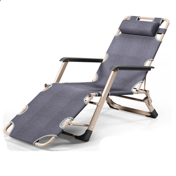 Folding Chair Afternoon Bed Balcony Leisure Backrest Sofa Portable Chair Beach Chair Home