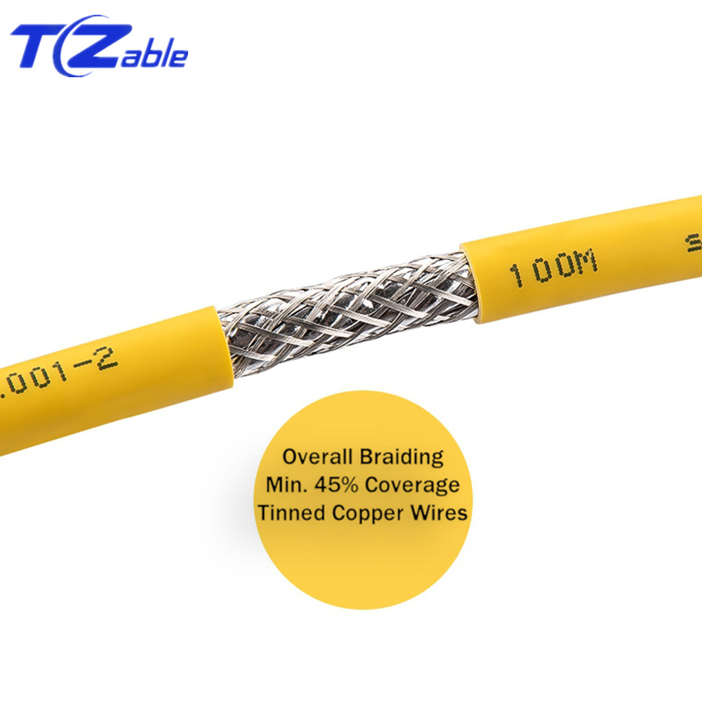 Image 2 - 40Gbps 2000MHz Cat8 SFTP Dual Shielded Network Cable Support POE 100W Ethernet Cable 5M 10M 30M 50M 100M