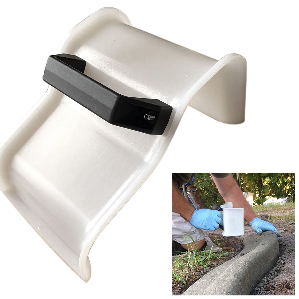 Garden Construction Tile Flooring Concrete Trowel DIY Landscape With Handle Shape Edger Curb Tool Skimming Grout Plastering Yard
