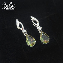 Dangle-Earrings Jewelry Color-Changing 925-Sterling-Silver Bolai-Zultanite Women Diaspore