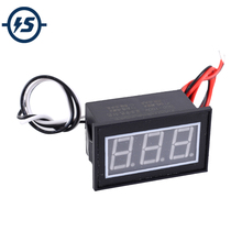 Digital Voltmeter Wasserdicht Voltage Tester Volt Meter 0.56in Rote LED-Display DC 100V