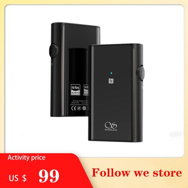 Портативный Hi Fi цифровой аудио декодер Shanling UP4 с Bluetooth, интегрированный аппарат, приемник LDAC, усилитель для наушников
