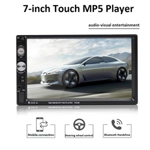 Car Multimedia Player Autoradio 2din Stereo Touch Screen Video MP5 Player Auto Radio Backup Camera 7 '' 2DIN Universal Car