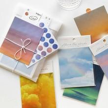 """3 листа/упаковка, серия """"облако и небо"""", Наклейки s, декоративные Стикеры для скрапбукинга, планировщик, сделай сам, дневник, альбом, этикетка, милые канцелярские принадлежности"""