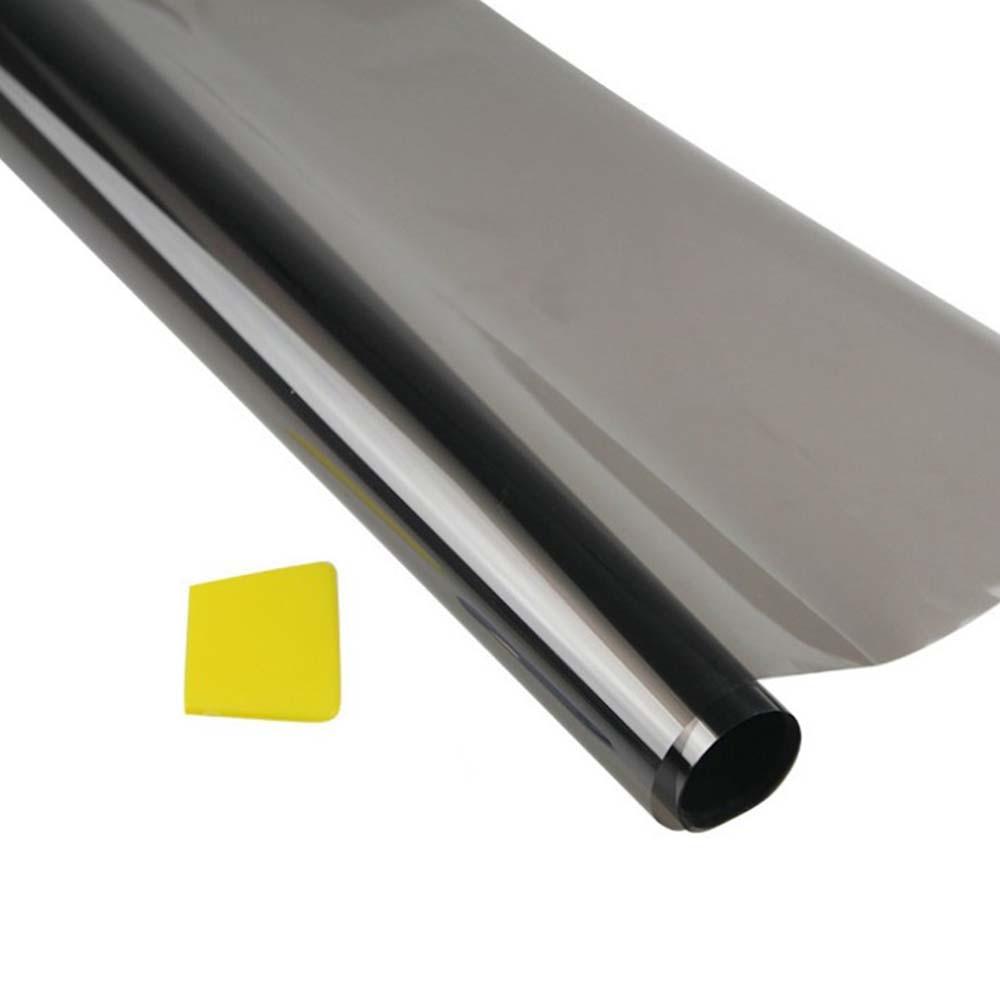 75cmx6M Universal Car Van Window Tint Film Sticker Block Heat Solar Sunshade Protector Cover Fit for Privacy Sun Glare
