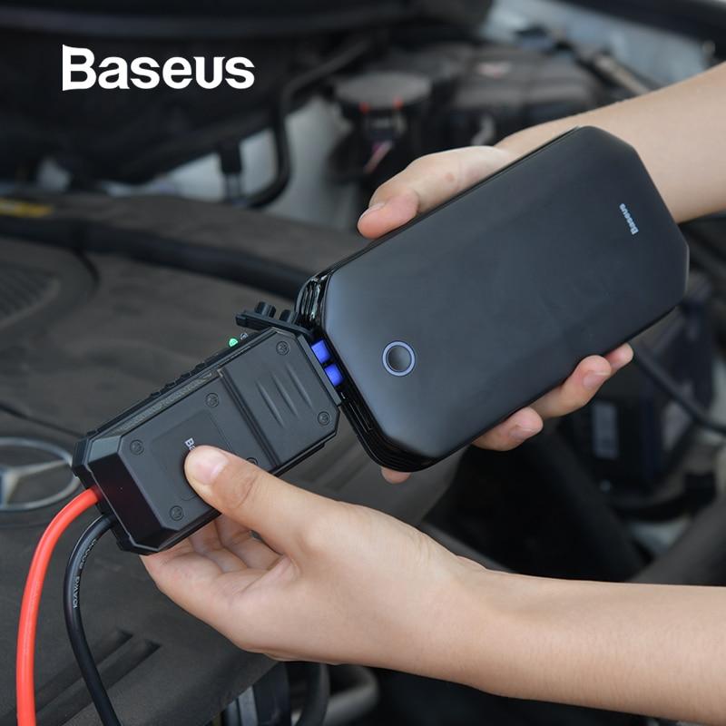 Baseus Auto Jump Starter Batterij Power Bank Draagbare 12V 800A Voertuig Nood Batterij Booster Voor 4.0L Auto Power Starter