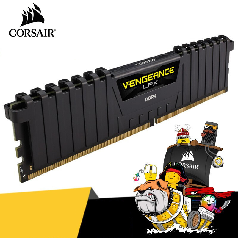 CORSAIR Vengeance оперативная память LPX 4 ГБ 8 ГБ 16 ГБ 32 ГБ DDR4 PC4 2400 МГц 2666 МГц 3000 МГц 3200 МГц модуль ПК Настольная RAM Память DIMM