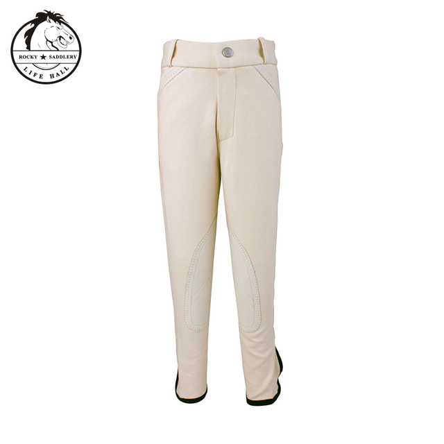 Cavassion children's breeches, children's riding pants, stretchy, soft and breathable  5