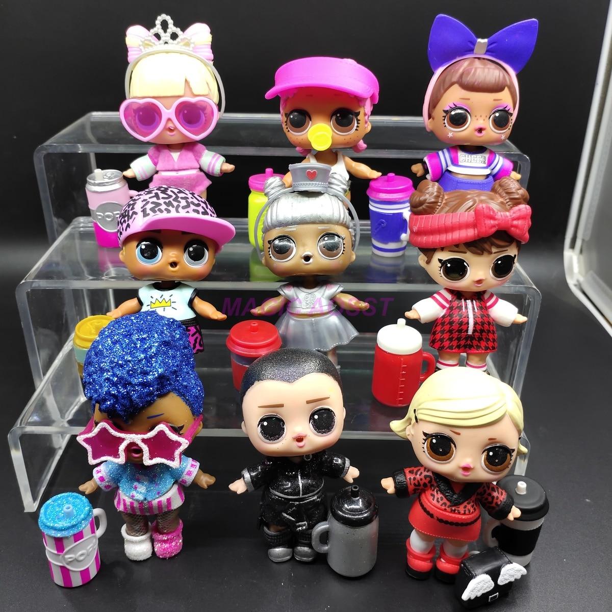 LOL Doll Surprise Original Four Generation Official Distribution Children's Toys Dolls Action Figure Model Girl Christmas Gift