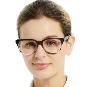 Image 2 - OCCI CHIARI High Quality Fashion Eyeglasses Brand Design Eyewear HandMade Glasses Frame Women Acetate avant gard Gift MELATTI