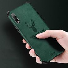 Soft Silicon Leather Case For Huawei Honor 8x 9x 20 V20 V30 Pro 20i Deer Logo Honor 30 Pro 30s Cover For Huawei Phone Case leather texture matte mobile phone case for huawei honor 30 v30 pro 30s 30 v30 v20 20i 20 10 9x 8x note10 phone cover