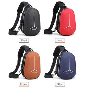 Image 5 - 2020 New Multifunction Shoulder Bag for Men Waterproof Short Trip Chest Bag Anti Theft Men Crossbody Bags Oxford USB Charging