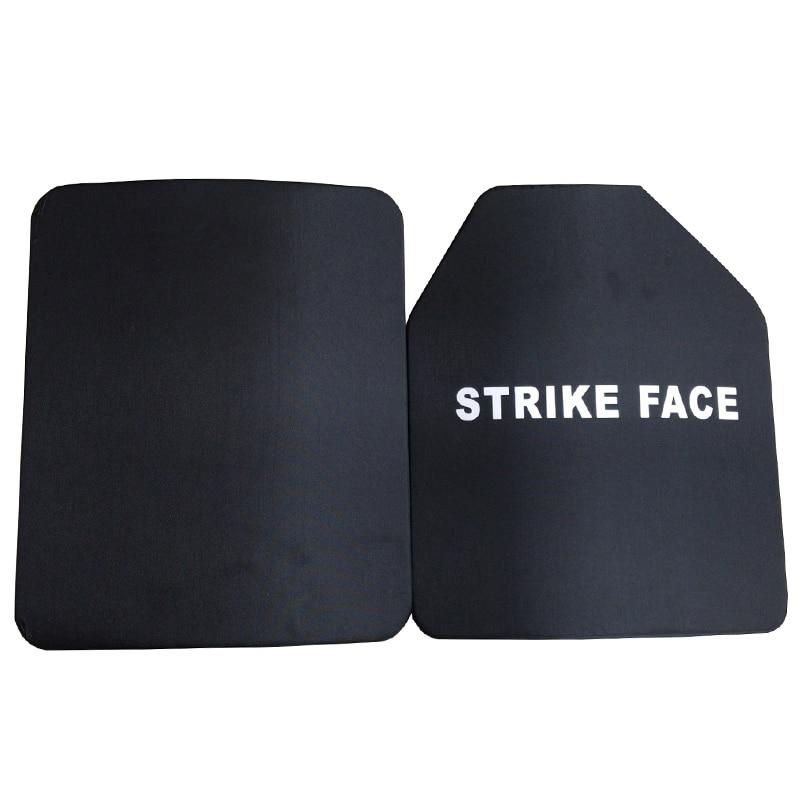 1pc NIJ III Bulletproof Steel Plate Military Ballistic Plate For Bulletproof Vest
