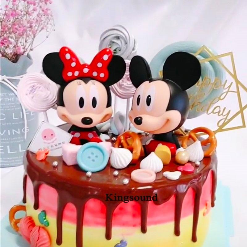 Wondrous Kids Children Birthday Mickey Cake Topper Cake Decorating Supplies Funny Birthday Cards Online Inifodamsfinfo