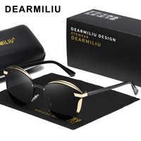 Nuevas gafas de sol DEARMILIU de ojo de gato, gafas de sol polarizadas a la moda para mujer, gafas de sol clásicas para mujer, gafas de sol femeninas 0824