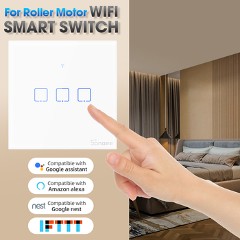 Smart WiFi Wall Touch Light Glass Switch Work with Alexa Google Home Touch Switch for Led Lamp Timer Voice Control Wall Switch