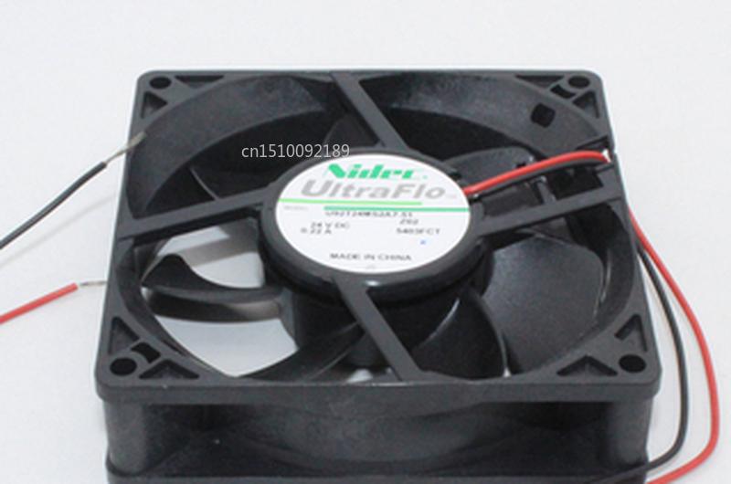 Free Shipping U92T24MS2A7-51 9cm 90mm 92mm 9025 9225 24V 0.22A Two-wire Double-ball Bearing Inverter IPC Cooling Fan