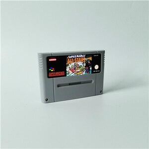 Image 5 - Super Marioed World wszystkie gwiazdy 2D Land Omega powrót do ziemi dinozaurów 3x karta do gry RPG wersja EUR oszczędzanie baterii