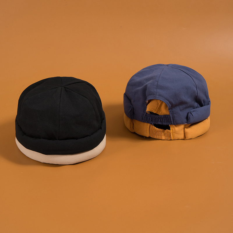 Fashion Man's Vintage Skullcap Hat Women's Cap Brimless Bonnet Winter Beanies Autumn And Keep Warm Hat