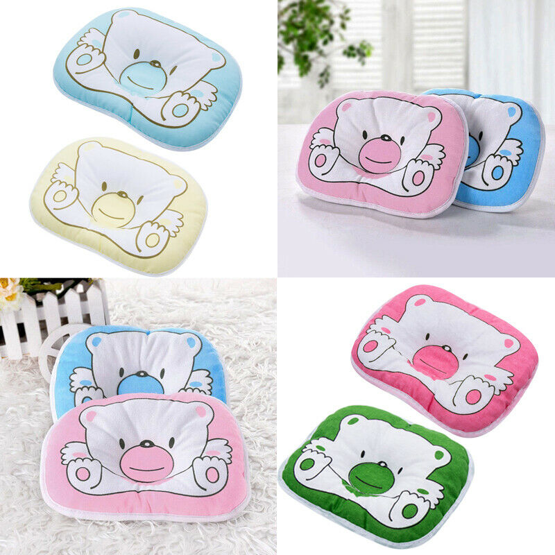 New Baby Pillow Newborn Anti Flat Head Syndrome For Crib Cot Bed Neck Support Cartoon Print Kids Pillow