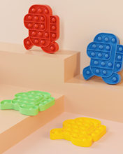 Jouet among Nous sensoriel Push Pop bulle autisme un need de jouets Anti-Stress spongieux enfant adulte drôle Parmi Nous cool