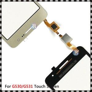 Image 4 - 20 adet/grup Samsung Galaxy Grand için başbakan Duos G530 G530H G530F G5308 G531 G531H G531F dokunmatik ekran Digitizer sensörü cam panel