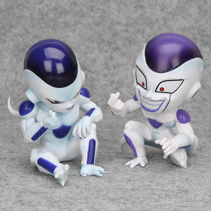 12 centímetros Anime figura Dragon Ball majin boo boo Celular DBZ goku Frieza freesa vegata Collectible Modelo figura de Ação Brinquedos