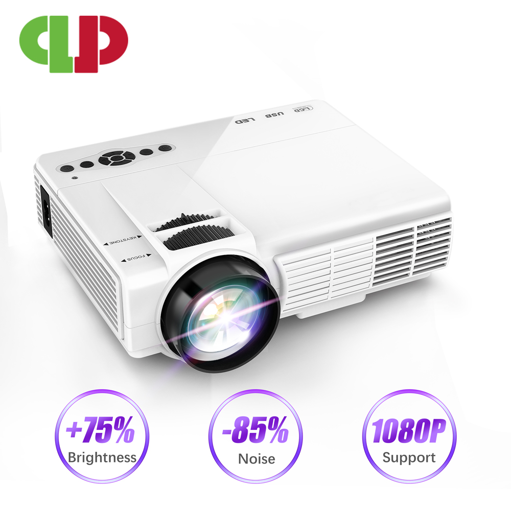 POWERFUL Q5 LED Mini Projector 800*600dpi Support 720P Portable Projector Home Cinema Beamer Optional Android WIFI Proyector