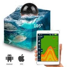 Erchang Портативный Sonar рыболокаторы лампа Bluetooth беспроводной Sonar для Iphone рыба лампа 36 м/118ft глубина эхолот Морская рыбалка