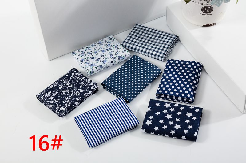 H666d1d4c367444f7a6493b8823bc67c6f 25x25cm and 10x10cm Cotton Fabric Printed Cloth Sewing Quilting Fabrics for Patchwork Needlework DIY Handmade Accessories T7866