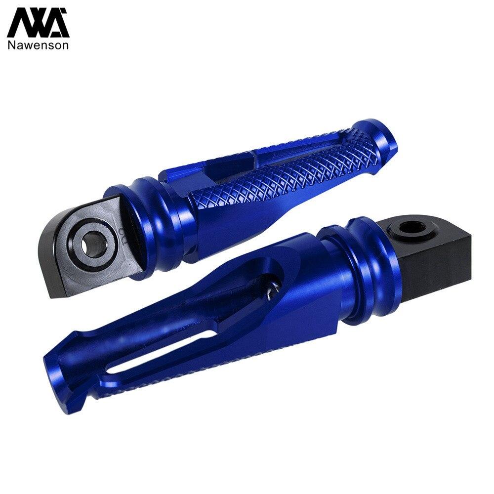 Алюминиевые Подножки для мотоцикла с ЧПУ, подножки для Yamaha YZF R6 2006-2017, для YZF R1/R1S/R1M