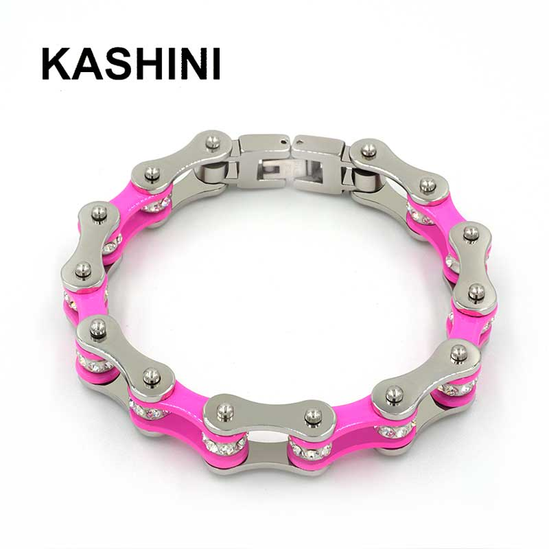 Punk Pink Bicycle Chain...