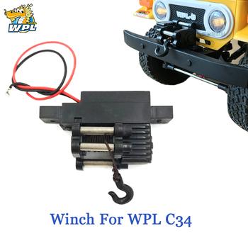 WPL automatyczna wciągarka elektryczna wciągarka N20 do samochodu 1 16 RC WPL C34 C34K C34KM tanie i dobre opinie Z tworzywa sztucznego Klasa montażu Hydrauliczna skrzynia biegów Regulatory prędkości L4 8cm Pojazdów i zabawki zdalnie sterowane