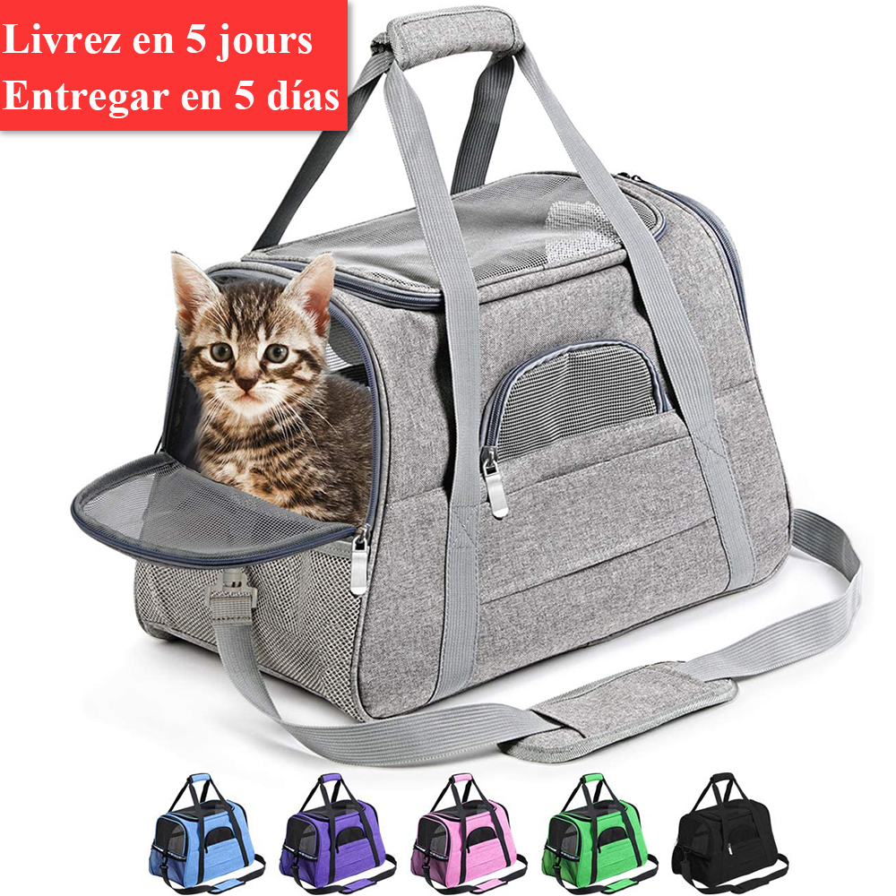 Dog-Carrier-Bags Airline Pet-Cat-Dog-Backpack Portable Cats Small for Approved