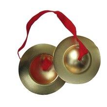 9 см медные пальчиковые тарелки ручные ударные инструменты подарок игрушки для ребенка