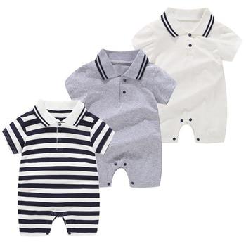 Jumpsuit Tanpa Lengan Musim Panas Baby Boy 1