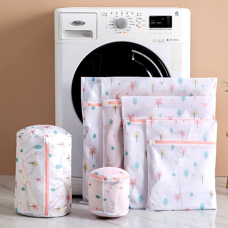 6 Sizes Laundry Bag For Washing Machines Mesh Bra Underwear Washing Bag For Clothes Laundry Bra Protecting Mesh Bag