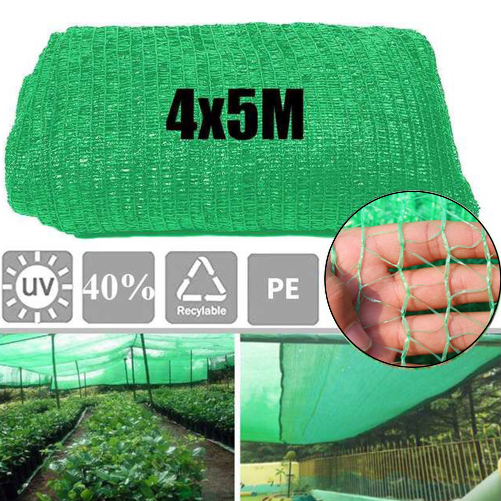 Protective Mesh Greenhouse Sunscreen Plant Cover Land Construction Site Anti Bird Garden Netting Orchard Dust Proof Crops Shade