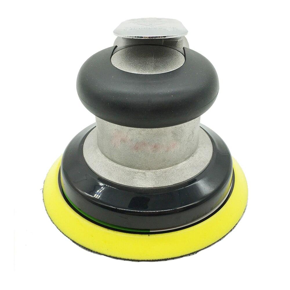5 inç olmayan vakum mat yüzey dairesel pnömatik zımpara rastgele Orbital havalı zımpara cilalı taşlama makinesi el aletleri