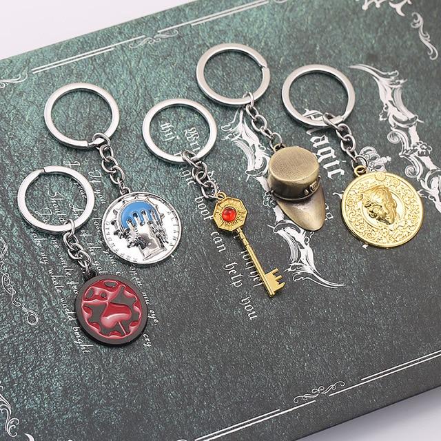 JoJo Bizarre Metal Keychain