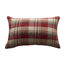 square rectangle plaid knitted sofa cushion cover 45*45 30*50 50*50 no inner black red cushion cases for home dec X64
