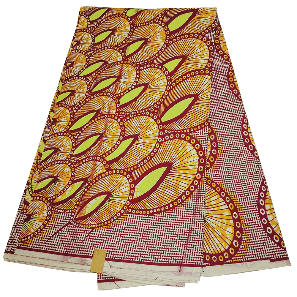 African Wax Prints Nigerian Ankara Printed Fabric 100% Cotton African Fabric Real Dutch Wax